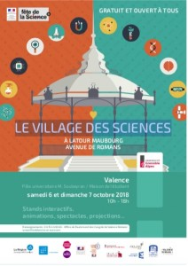 visuel village des sciences valences 2018
